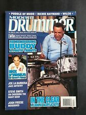 Modern Drummer Magazine April 2002 Buddy Rich