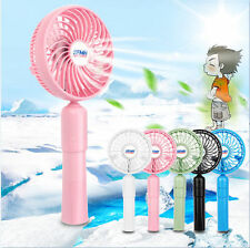 New Mini Portable Foldable Handheld Cooling Fan Rechargeable 2000mAh Power Bank