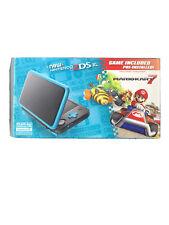 New Nintendo 2DS XL Black/Turquoise Mario Kart 7