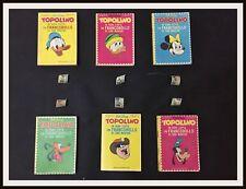 TOPOLINO FRANCOBOLLI DI SAN MARINO - # 804/809 -1971 - DISNEYANA.IT