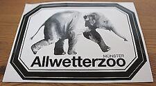 Aufkleber Sticker Münster Allwetterzoo