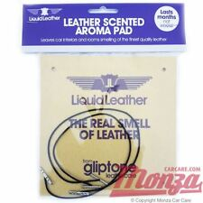 1x Gliptone Large Underseat or Under Car Dashboard Leather Air Freshener