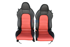 2006 2007 Honda S2000 Red/Black Perforated Leather Seats