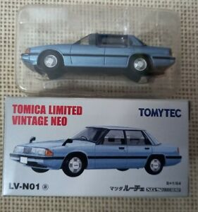 Tomica Limited Vintage Neo Tomytec Mazda Luce LV-N01a Year 2006 with Box