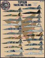 Furball Decal 1/48 USN F-5E/T-38 Top Gun Weapon School Tigers & Talons - 48-056