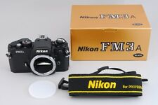 【NEAR MINT in Box + PRO Strap】Nikon FM3A SLR 35mm Film Camera from Japan #484