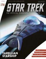 Eaglemoss Star Trek The Next Generation #176 Tarellian Ship w/mag. - IN STOCK