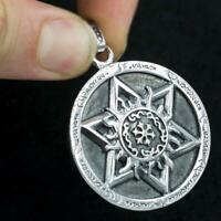 DAVID STAR JUDAISM PENTAGRAM WITCH 925 STERLING SOLID SILVER MENS WOMENS PENDANT