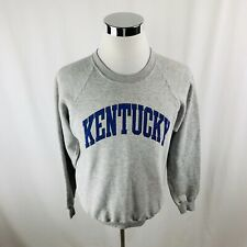 Vtg Kentucky Wildcats NCAA Gray Sweater Crewneck Mens XL X-Large