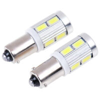 2x BAX9S H6W 10 LED Parking Light Tail Light Bulb FE
