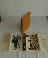 ISAAC ASIMOV - THE GODS THEMSELVES -  US HB DJ 1972 - VG COND+ - UNREAD