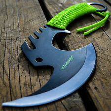 """12"""" SURVIVAL CAMPING TOMAHAWK THROWING AXE BATTLE Hatchet Hunting Knife Tactical"""