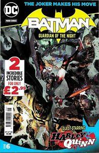 BATMAN (GUARDIAN OF THE NIGHT) DC COMICS - ISSUE 6,  SEPT 2021