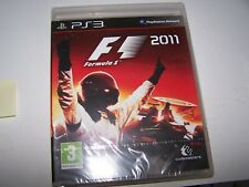 FORMULA 1 F1 2011    -  PS3 - VF - NEUF SOUS CELLO