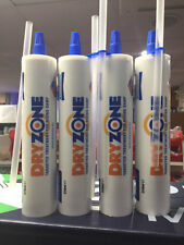 4 TUBES * DRYZONE CREAM 310ML - FITS STANDARD MASTIC GUN NEXT W/DAY DELIVERY