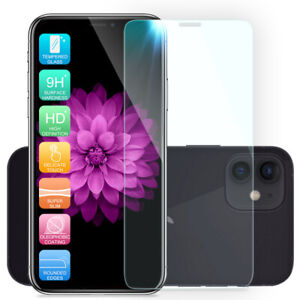 For Apple iPhone 12/Pro/Max/Mini 5G Clear Tempered Glass Screen Protector