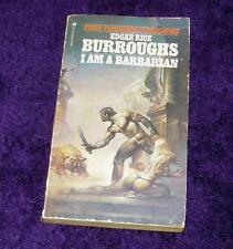 EDGAR RICE BURROUGHS pb I Am a Barbarian fair free ship
