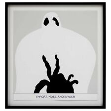 John Baldessari Throat, Nose and Spider