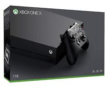 Microsoft Xbox One X 1tb schwarz