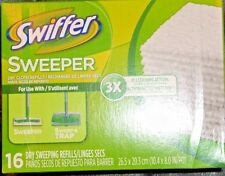 10 PAK Swiffer Sweeper Dry Cloth Refills 16 Count Package