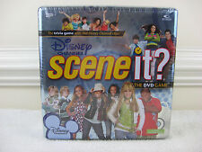 Disney Channel Scene It? The DVD Game in Tin Box 2008~New & Factory Sealed
