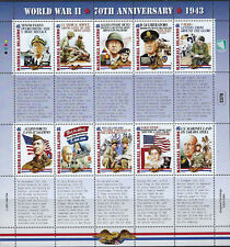 WORLD WAR II : 2013 MARSHALL IS -70th Anniversary of 1943 sheet  SG 3073a MNH