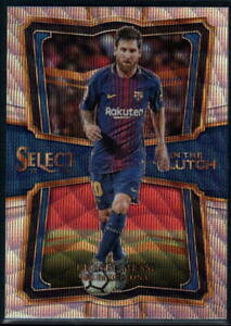 2017-18 Panini Select Soccer In the Clutch Inserts - Pick A Card