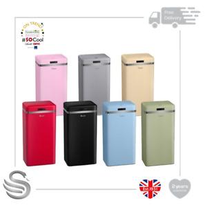 Swan Retro Square Sensor Bin SWKA4500 - Infrared Technology 45 Litre- Brand New