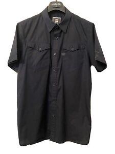 G Star Raw Mens Navy Casual Shirt XL