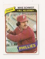 Mike Schmidt- 1980 Topps-  #270.