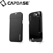 CAPDASE SAMSUNG Galaxy Note 2 GT-N7105 Sider Flip Folder Phone Case Jacket Black