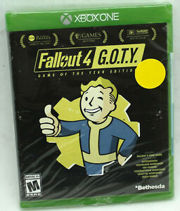 Fallout 4 Game of the Year GOTY Microsoft Xbox One Sealed US NTSC Physical