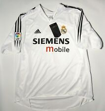 Adidas Real Madrid Jersey Authentic Shirt Camiseta Spain Raul Soccer Mens XL