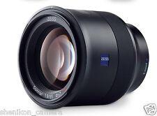 New Carl Zeiss Batis T* Sonnar 85mm F1.8 Full Frame Lens Sony E Mount A7 A7R