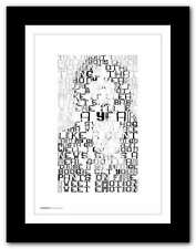 More details for aerosmith sweet emotion ❤ typography quote poster art print #21