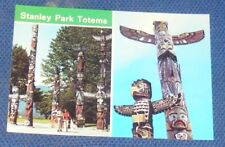 STANLEY PARK TOTEMS, VANCOUVER, B.C. CANADA