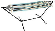 Florabest hammock with stand includes storage bag with carry straps