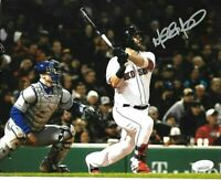 Mitch Moreland Wolrd Series Boston Red Sox Autographed 8x10 Photo coa+JSA