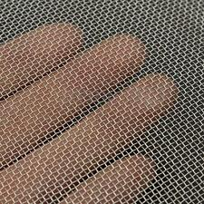 20 Mesh #20 .016 304 Stainless Steel Woven Wire Cloth Screen Sheet 15cm x 30cm