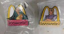 "McDonalds ""Walt Disney's Pocahontas 2 Pin Lot ""Pocahontas & John Smith"""