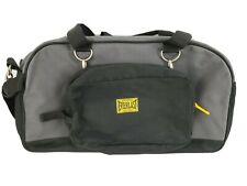 Vintage Everlast Sport Duffel Bag Gym Workout Gear  Black Yellow Boxing