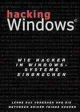 Hacking Windows.Wie Hacker in Windows Systeme einbrechen | Buch | Zustand gut