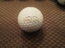 Logo Golf Ball-Tijeras Creek Golf Club.California