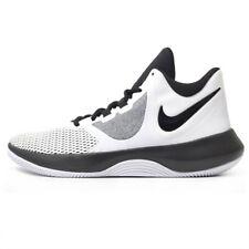 Size 10.5 - Nike Air Precision 2 White Black