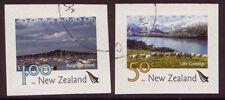 Nueva Zelanda 2007 Scenic definitives S/a Par de folleto Fine Used