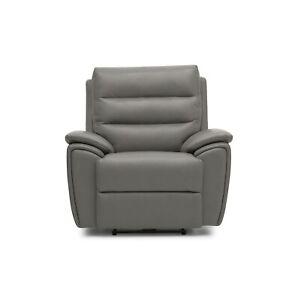 La-Z-Boy UK Willow Static Chair - cover Sidekick Grey Leather MRP £979