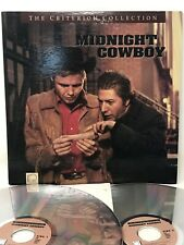 Midnight Cowboy Criterion Collection LaserDisc CAV 2 Discs