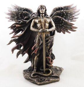Archangel Metatron Angel of Life Guardian Angel Cold Cast Bronze Figurine.