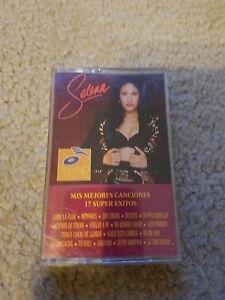 SELENA Quintanilla Mis Mejores Canciones 17 super exitos ORIGINAL cassette tape