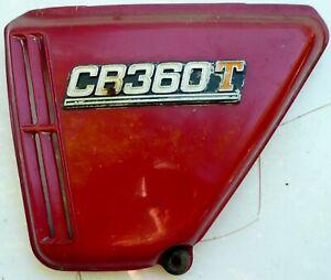 Honda CB360 T  Left Side Cover  With Emblem